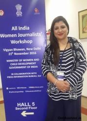 Journalist Farzana Mumtaz Shines