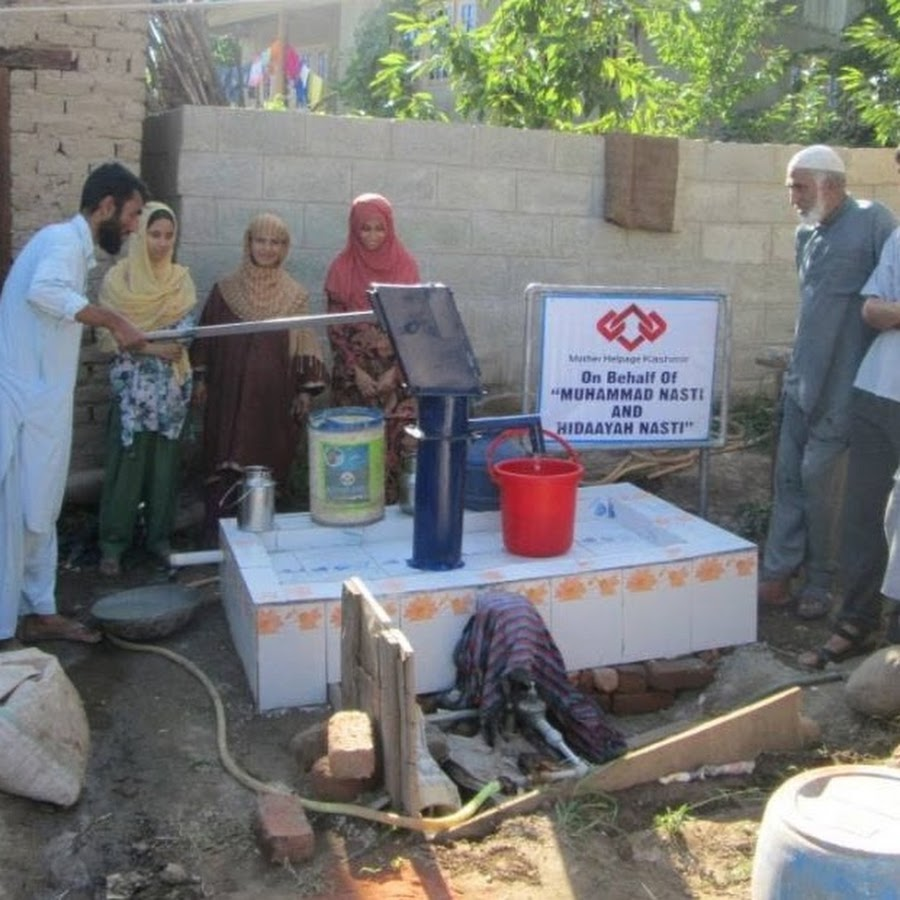 Mother Helpage Wells installed , filters Distributed Beneficiaries