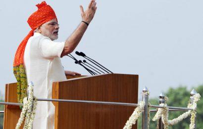 Modi's Jhappi