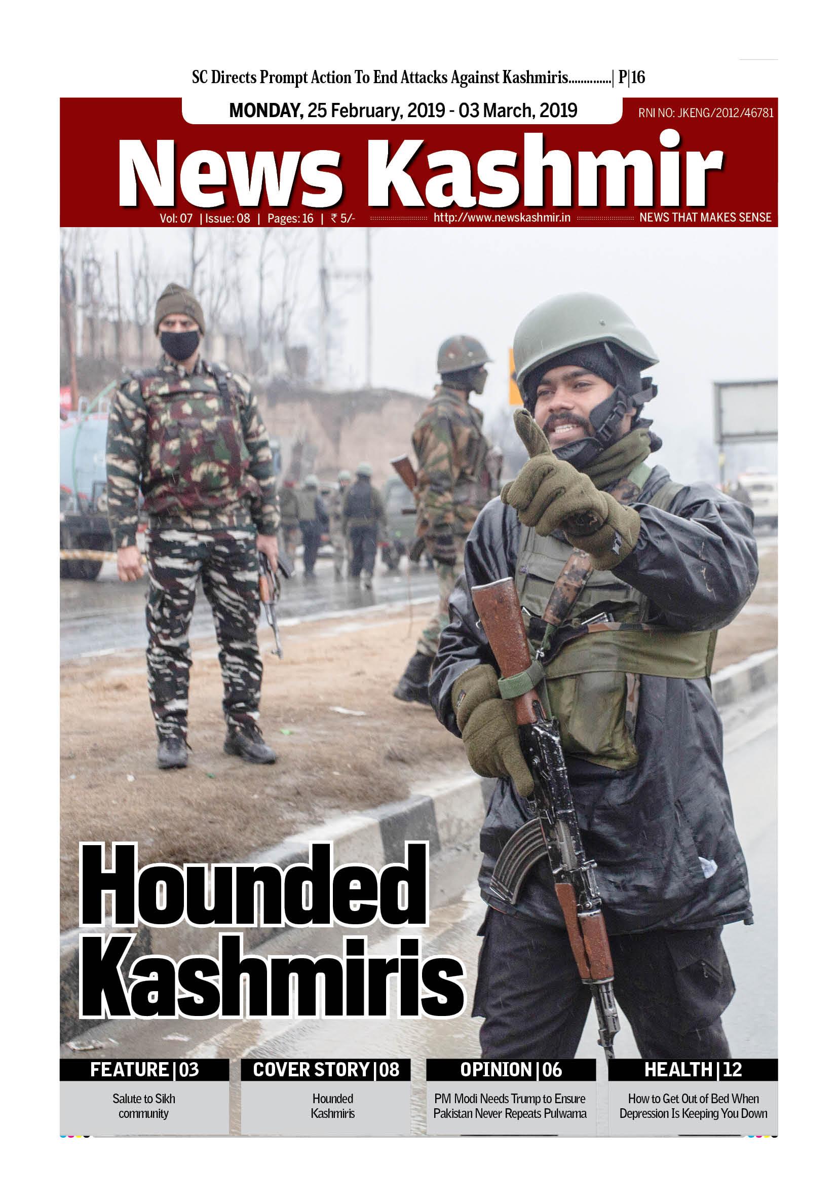 Hounded Kashmiris