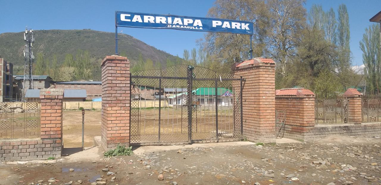 Cariappa Park in Shambles