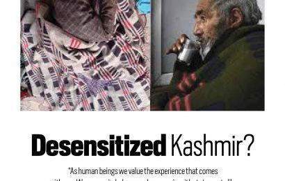 Desensitized Kashmir?