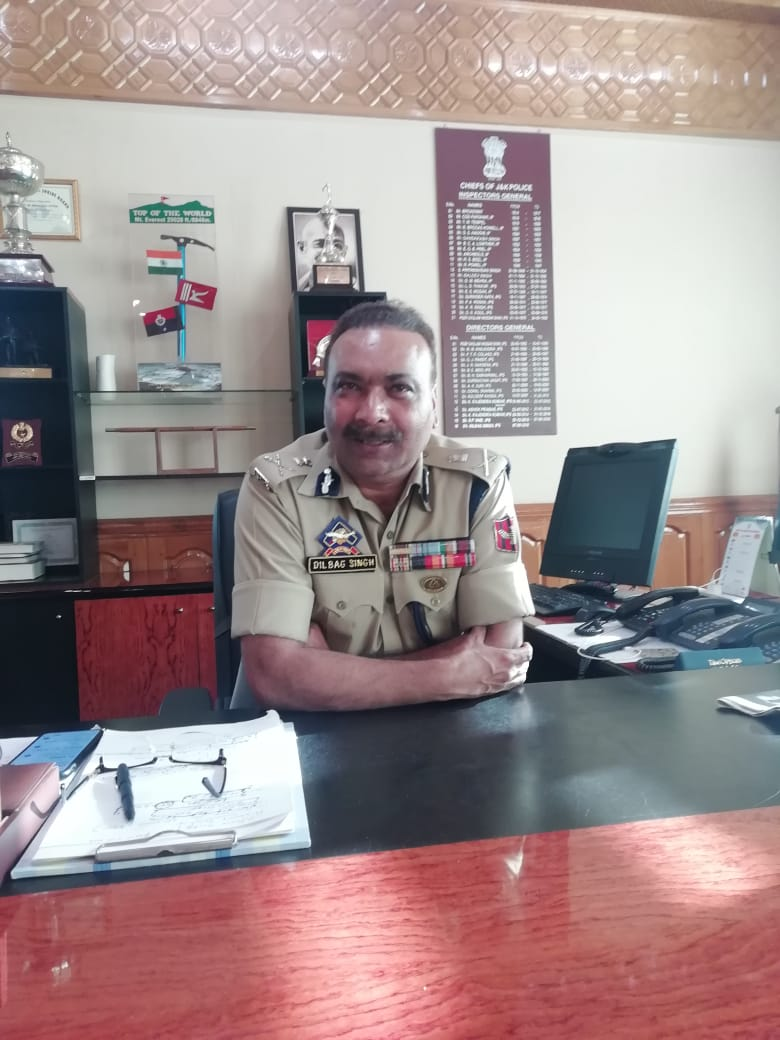 Overall Situation Improving in Kashmir : DGP Dilbag Singh